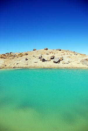 tongariro: Emerald Lake, Tongariro Alpine Crossing