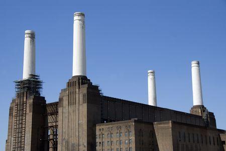 powerstation: Battersea Powerstation Stock Photo