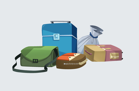 Luggage, small bag, big bag, many styles