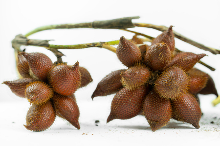 Salak is a delicious tropical fruit. Stok Fotoğraf