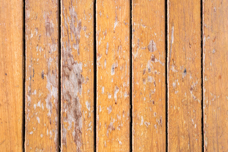 Wooden floor is very old.