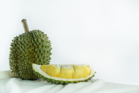 Durian is a strong fruit. It has a very sweet taste.