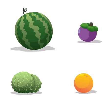 Fruits have many benefits that we do not know. Illustration