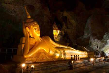 The Reclining Budda of South Thailand photo