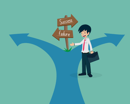 Salary Man 01 Guide to the Failure WayIf you have a not good  business plan, you will lead the team to failure way.