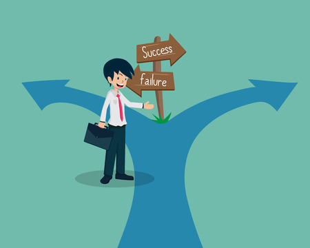 Salary Man 01 Guide to the Success WayIf you have a good business plan, you will lead the team to success.