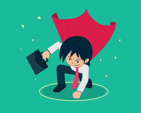 Salary Man 01 The Super Business Man Landing.If you have a good Business plans , you will be faster than anyone else.