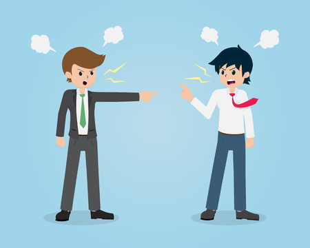 Salary Man 01 are Quarrel with Colleagues.Without Planning, Mistakes can cause a Fight.