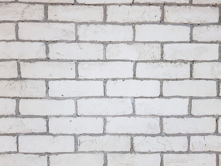 White Brick Wall Texture, background, Cement Brick