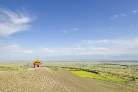 xinjiang: paysages dans le Xinjiang