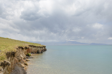 lake shore: Sailimu Lake Shore