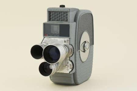 filmmaker: 8mm film  camera