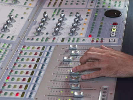 dubbing: mixing console for music cinema and broadcast