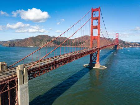 The Golden Gate Bridge located in San Francisco, California