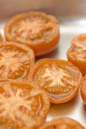 tomatos: Grilled tomatos (vertical)
