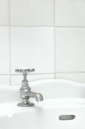 Dripping tap photo