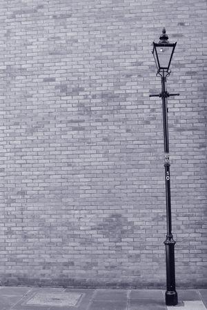 Blue-toned street scene (London) photo