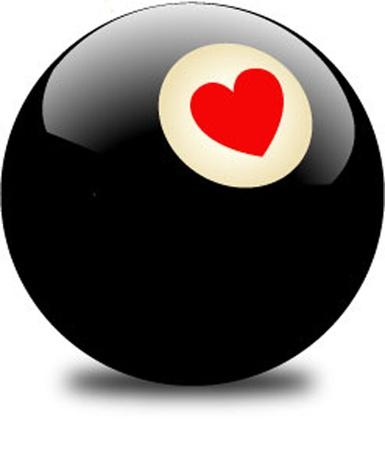 marrage: pool ball