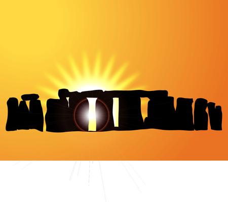 stonehenge: STONEHENGE Illustration
