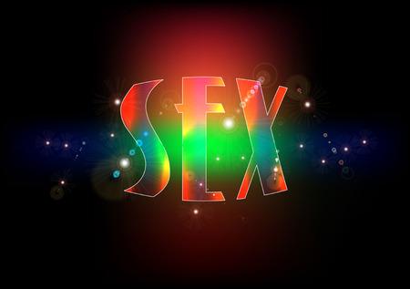 SEX LETTERING photo