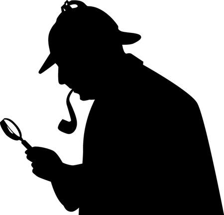 sherlock holmes: silhouette SHERLOCK