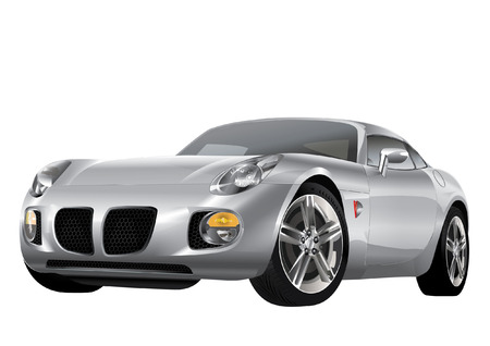 EXPENSIVE SPORTS CAR Vector