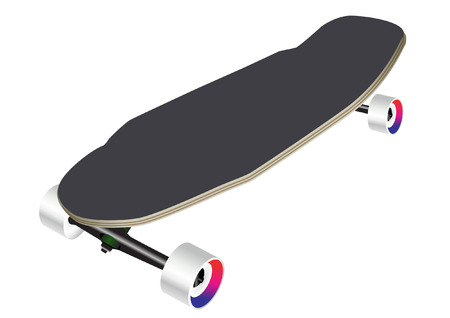 skateboard park: PAT�N Vectores