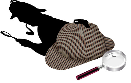 detectives accessories Illustration