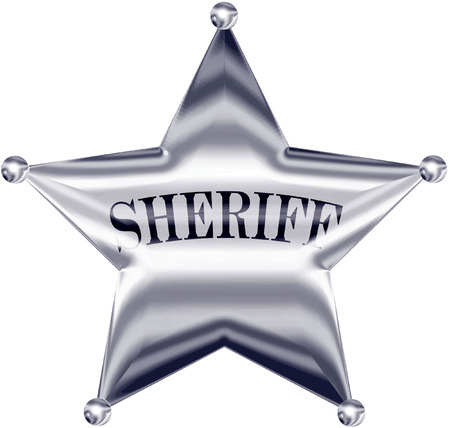 deputy: SHERIFF BADGE Illustration