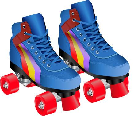 little skate: ROLLER SKATES