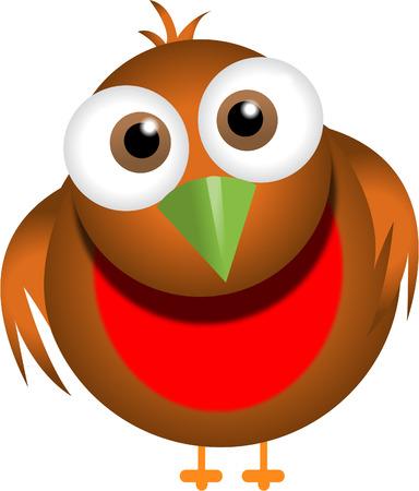 breast comic: cute robin