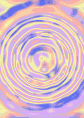 abstract water ripples Illustration