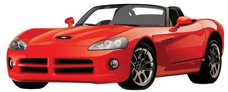 Red de autos deportivos