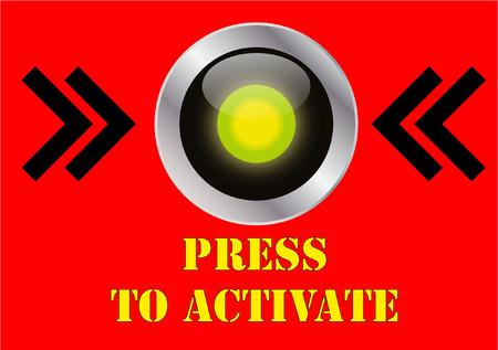press button: press button