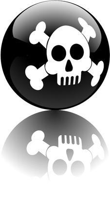 skull pool ball