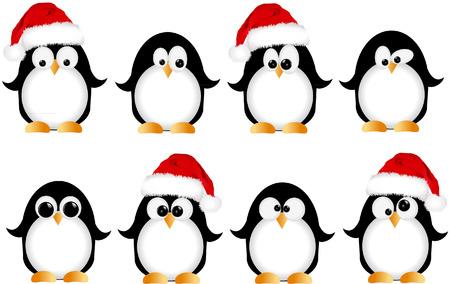 pinguinos navidenos: ping�inos de la Navidad