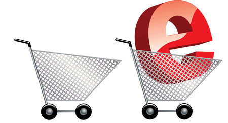 ON LINE SHOPPING Vector