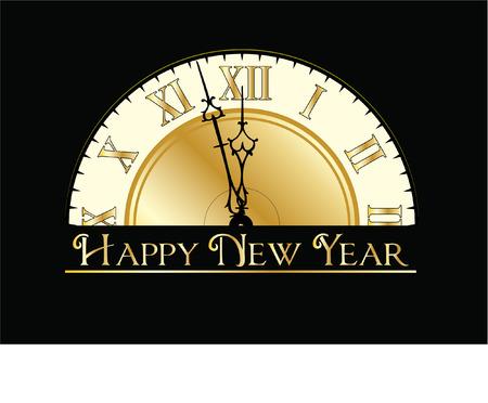 happy new years: happy new years eve clock