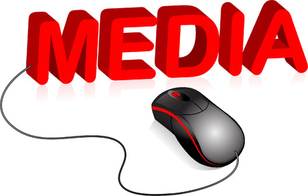 media mouse Vector
