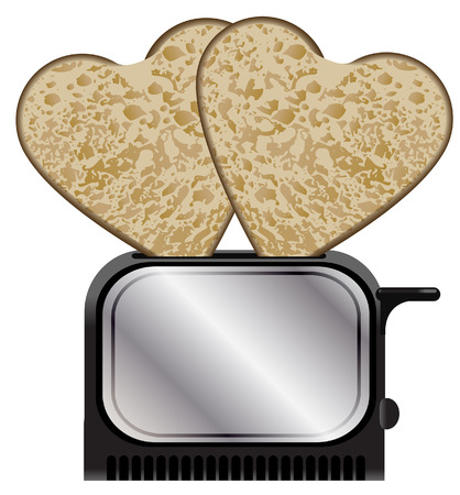 love toast Vector