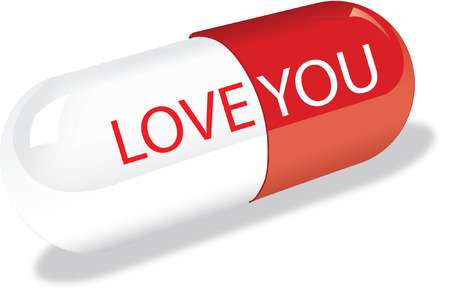 love pill Vector