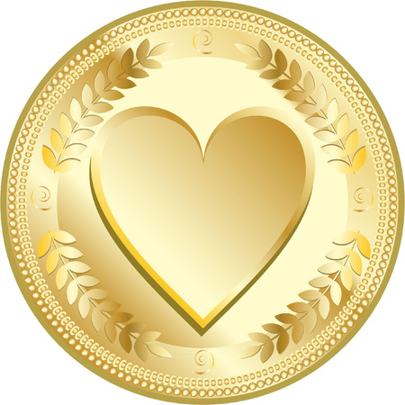 love coin Vector