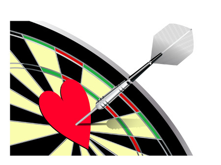love darts Vector
