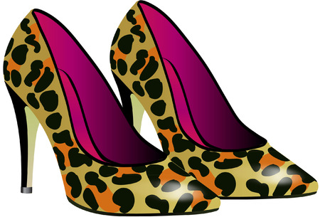 high heel shoe: high heels Illustration