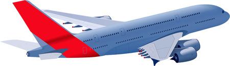 jet plane Illustration