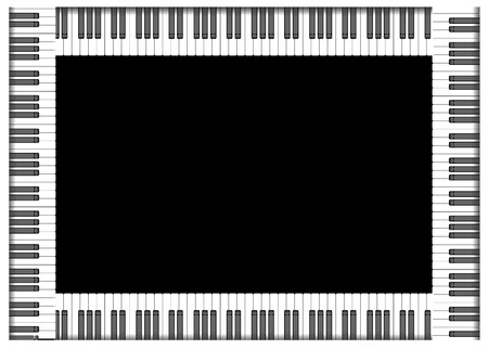 fame keyboard Vector