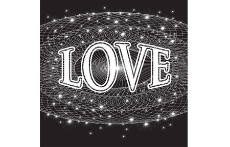 love scroll Vector