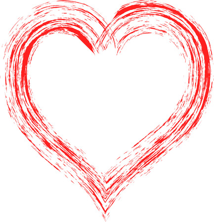 st valentin: grunge heart