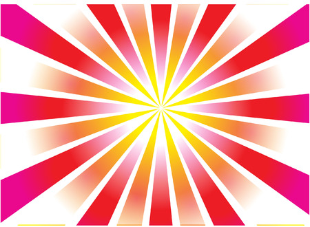 starburst abstract Vector