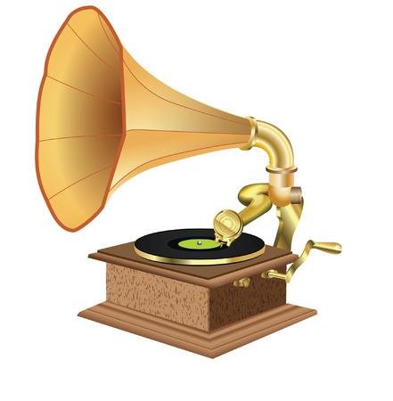 gramaphone Vector